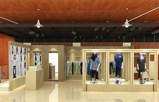 时尚服装店装饰室内效果图片