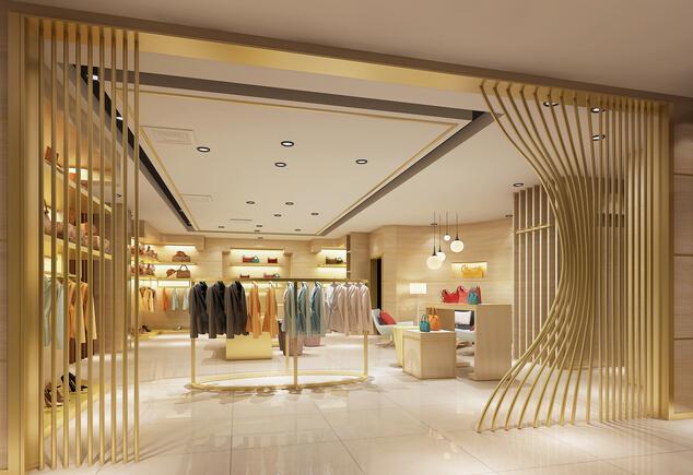 品牌服装店设计效果图欣赏