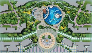 广场规划设计图欣赏