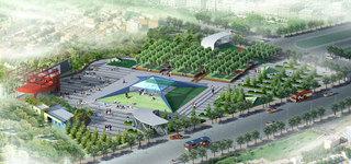 广场设计方案效果图