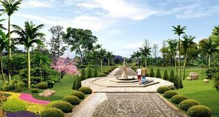 绿化广场装饰设计图片
