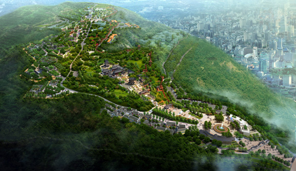 山地公园图片