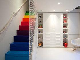 缤纷色彩的家 13款彩色楼梯设计
