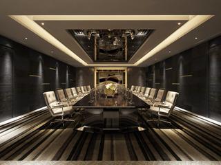 时尚会议室室内装修设计图片
