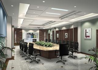 会议室室内装修设计图片