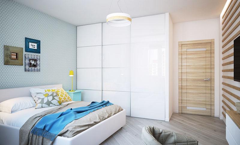 50平方小户型装修图卧室设计高清图片