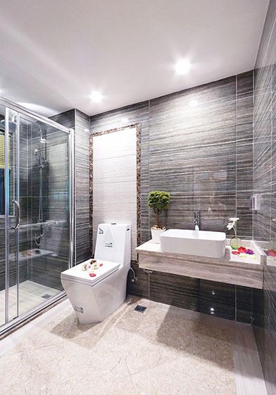 130平方装修效果图卫生间设计