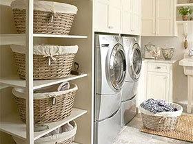不是土豪也能拥有 18个家居洗衣房设计