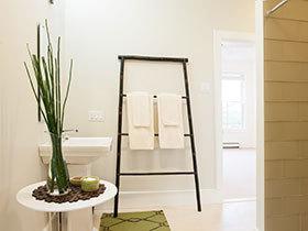 小小梯子爱收纳 10个卫生间梯形收纳架