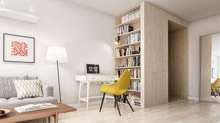 60平米小户型装修效果图客厅设计
