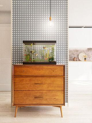 60平米小户型装修效果图柜子设计