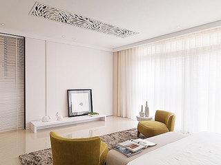167平米loft效果图客厅背景墙设计