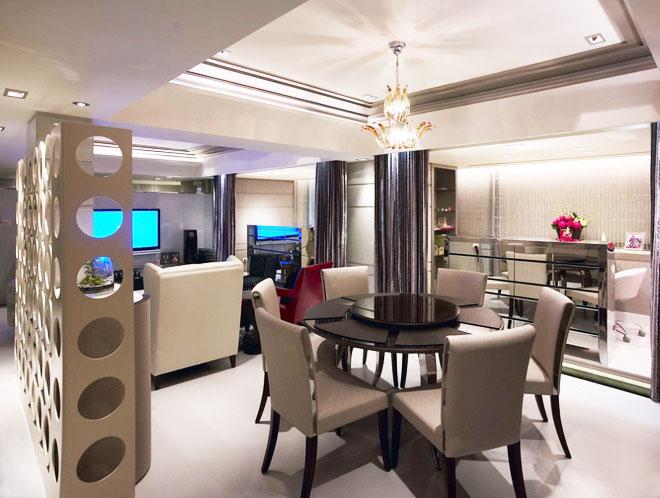 178平米现代装修风格餐厅设计