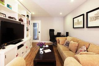 85平米房屋装修效果图电视背景墙设计