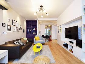 90平米房屋裝修效果圖 溫馨現代風格