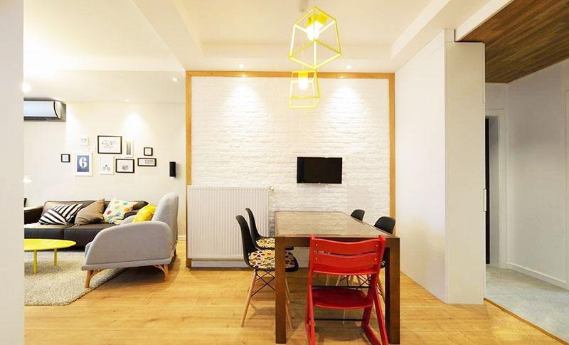 90平米房屋装修效果图餐厅设计