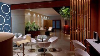 美容院装饰大厅设计图片