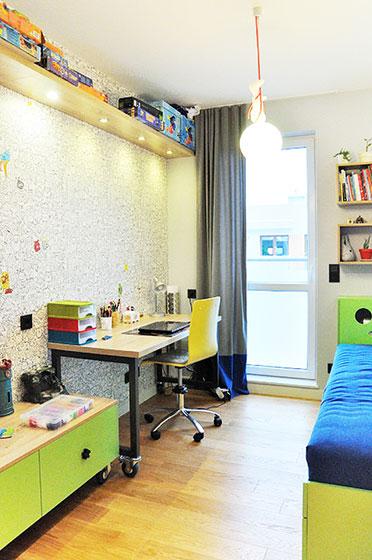 简约两室一厅装修儿童房设计