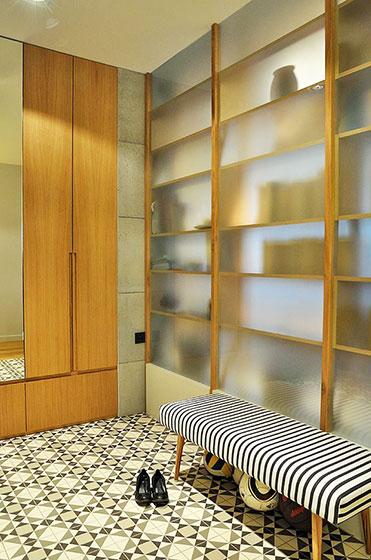 简约两室一厅装修玄关设计