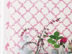 墙面装饰法则 16款缤纷壁纸推荐
