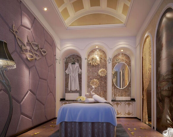 美容院房间室内效果图