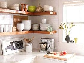 13个收纳厨房设计 墙面空间超值利用