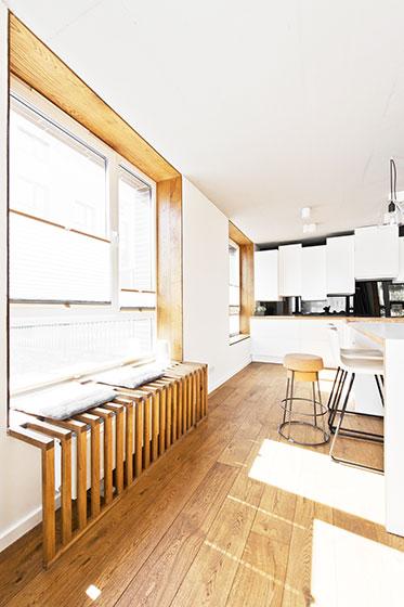 85平米loft效果图厨房飘窗设计