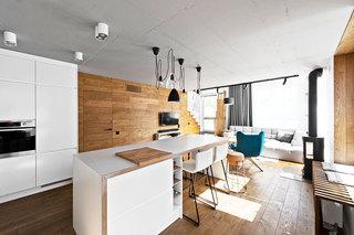 loft风格80平米装修图片