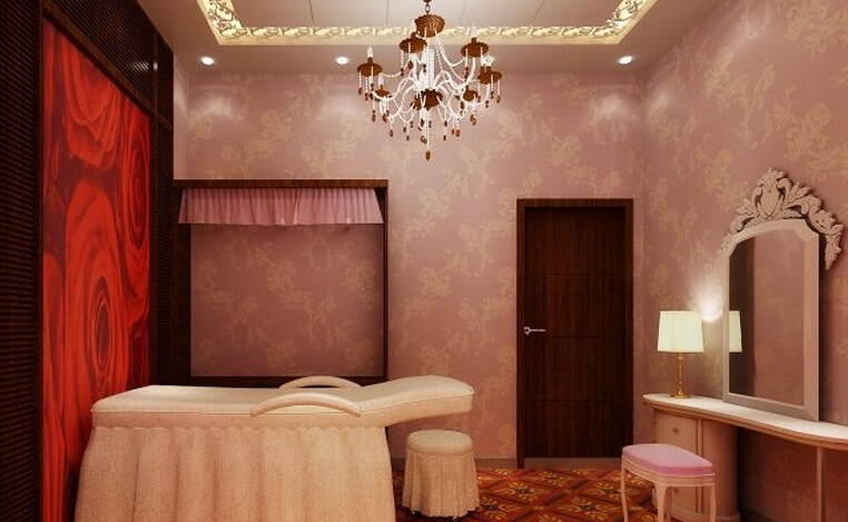 美容院室内装潢效果图