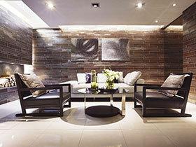 128平米公寓设计 大气休闲风格