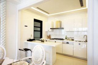 138平米简欧装修风格厨房设计