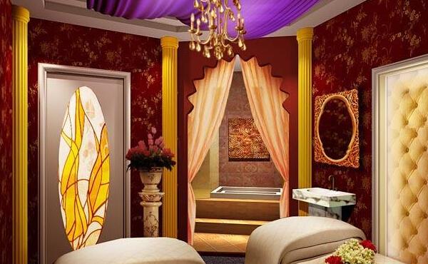 古典美容院设计图片案例