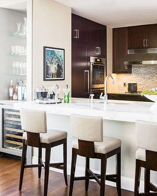 100平方装修效果图厨房设计