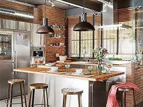 13个loft厨房设计 开放式才是最爱