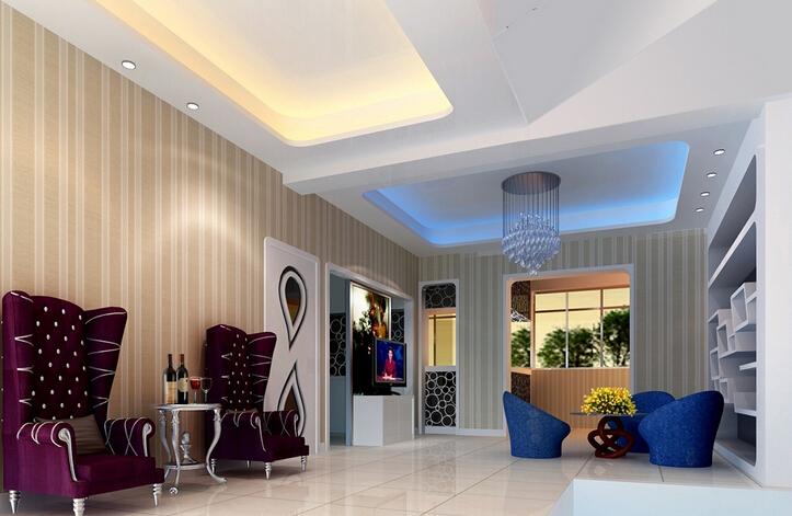 美容院室内装修设计案例图片