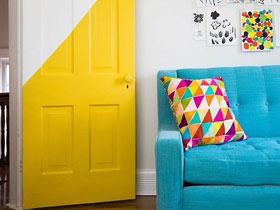 色彩秀出來 12款彩色門欣賞