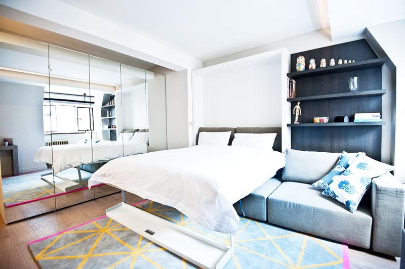 80平米小户型效果图卧室设计