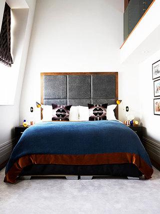 现代简约装修效果卧室设计
