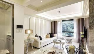 欧式风格两室一厅130平米装修效果图