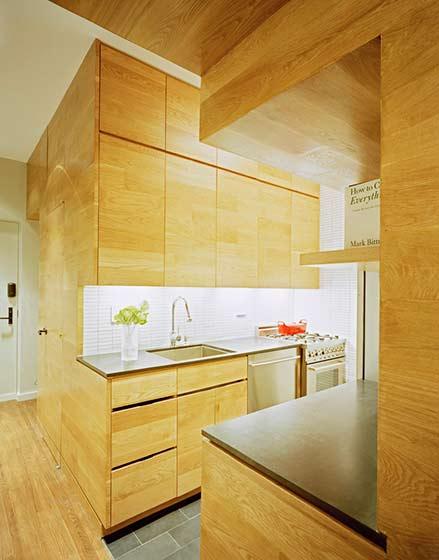 一室户设计效果图厨房设计