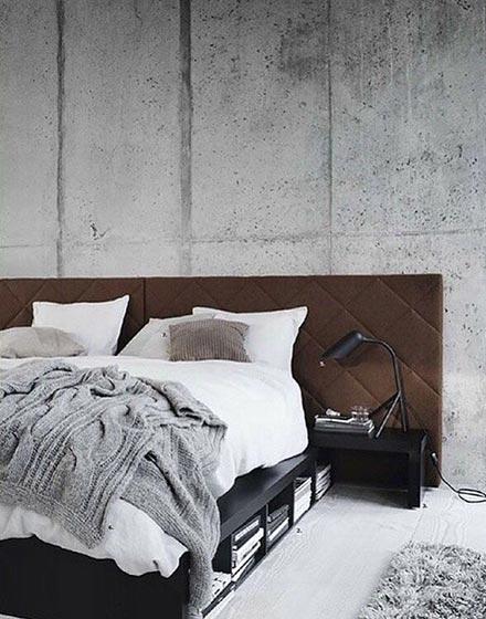 简洁卧室布置效果图