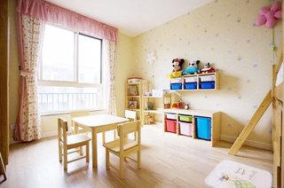 地中海风格三居室温馨效果图