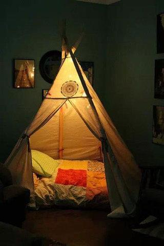 儿童帐篷装修效果图