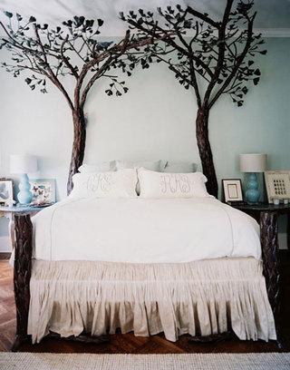 树枝装饰卧室设计图