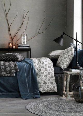 树枝装饰卧室图片