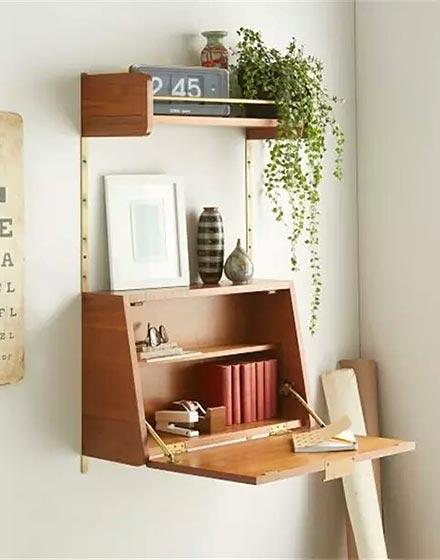 小户型折叠书桌设计