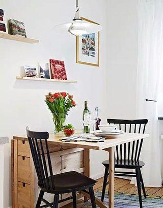 折叠餐桌阐释空间零占用