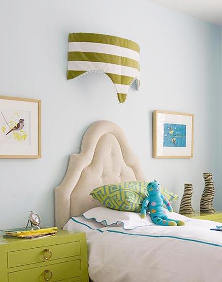 创意帐篷顶装饰儿童房背景墙