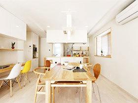 自然系日式装修风格 70平米舒适生活