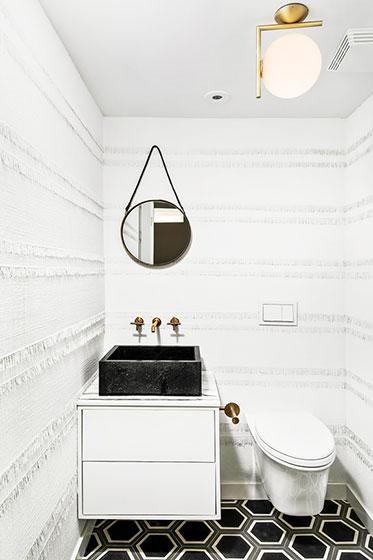 别墅装修设计卫生间洗手台空间